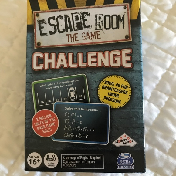 NWOT Escape Room Challenge Game